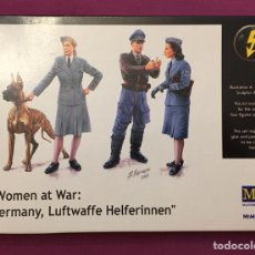 Maquetas: WOMEN AT WAR GERMANY LUFTWAFFE HELFERINNEN 1:35 MÁSTER BOX MAQUETA FIGURA DIORAMA. Lote 177965492