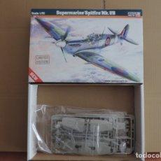 Maquetas: MAQUETA - MISTERCRAFT D-203 SUPERMARINE SPITFIRE MK.VB 1/72. Lote 178024379