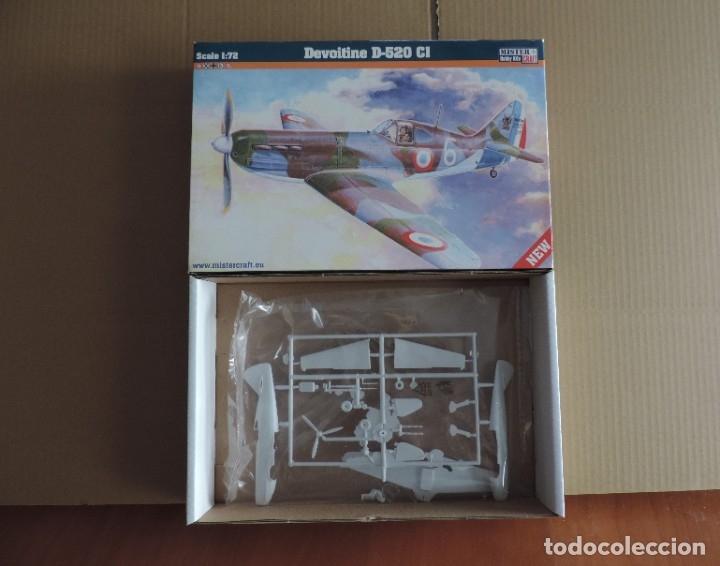 MAQUETAS - MISTERCRAFT D-216 DEVOITINE D-520 CL 1/72 (Juguetes - Modelismo y Radio Control - Maquetas - Aviones y Helicópteros)