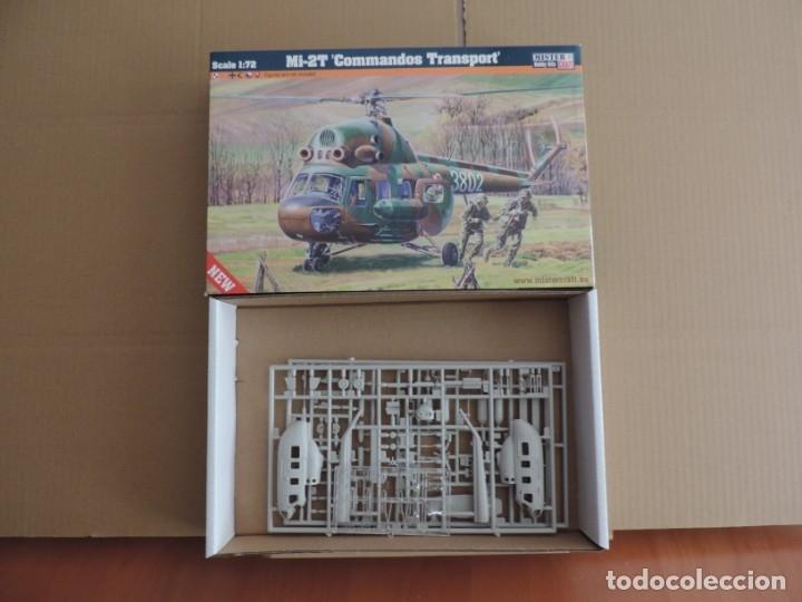 MAQUETA - MISTERCRAFT D-152 MI-2T COMANDOS TRANSPORT 1/72 (Juguetes - Modelismo y Radiocontrol - Maquetas - Militar)