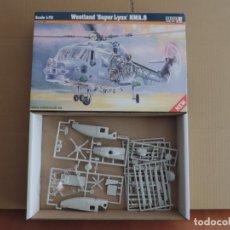 Maquetas: MAQUETA - MISTERCRAFT D-02 WESTLAND SUPER LYNX HMA.8 1/72. Lote 178054607