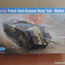 Maquetas: MAQUETA - HOBBY BOSS 83859 FRENCH SAINT CHAMOND HEAVY TANK MEDIUM 1/35. Lote 178056034