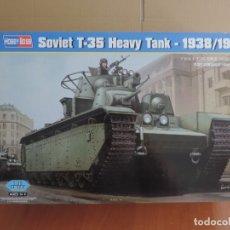 Maquetas: MAQUETA - HOBBY BOSS 83843 SOVIET T-35 HEAVY TANK 1938-1939 1/35. Lote 178056320