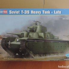 Maquetas: MAQUETA - HOBBY BOSS 83844 SOVIET T-35 HEAVY TANK-LATE 1/35. Lote 178056457