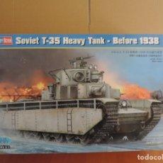 Maquetas: MAQUETA - HOBBY BOSS 83842 SOVIET T-35 HEAVY TANK (BEFORE 1938) 1/35. Lote 178056623