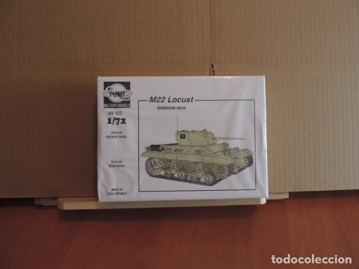 MAQUETA - PLANET MODELS MV103 M22 LOCUST AIRBORNE TANK 1/72 (Juguetes - Modelismo y Radiocontrol - Maquetas - Militar)