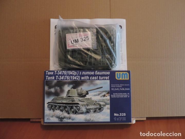 MAQUETA - UM 325 T-34/76 M.1942 WITN CAST TURRET 1/72 (Juguetes - Modelismo y Radiocontrol - Maquetas - Militar)