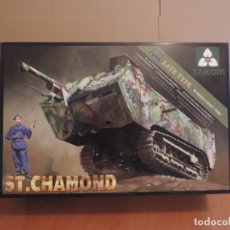 Maquetas: MAQUETA - TAKOM 2012 ST CHAMOND (LATE TYPE) FRENCH HEAVY TANK 1/35. Lote 178057537