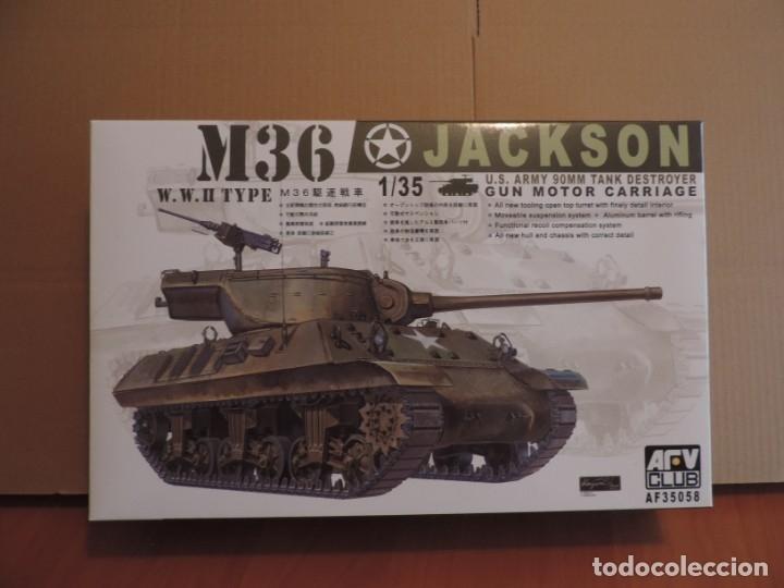 MAQUETA - AFV CLUB 35058 M-36 TANK DESTROYER 1/35 (Juguetes - Modelismo y Radiocontrol - Maquetas - Militar)