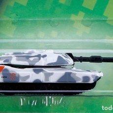 Maquetas: LOTE TANKE DE METAL / BLINDADO / CARRO DE COMBATE - MAISTO - M1A1 ABRAMS - US ARMY - SCL. 1/64. Lote 178085469