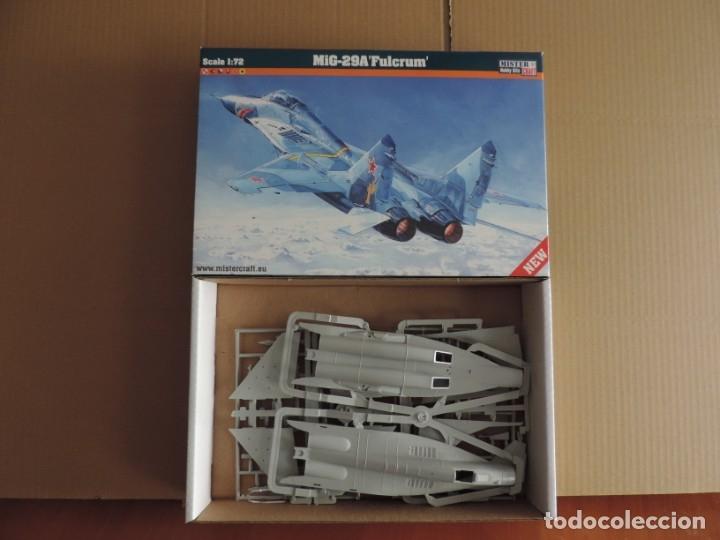 MAQUETA - MISTERCRAFT D-20 MIG-29 A FULCRUM 1/72 (Juguetes - Modelismo y Radio Control - Maquetas - Aviones y Helicópteros)