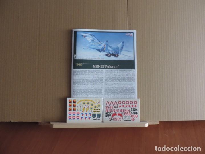 Maquetas: Maqueta - Mistercraft D-20 MIG-29 A FULCRUM 1/72 - Foto 2 - 178139818