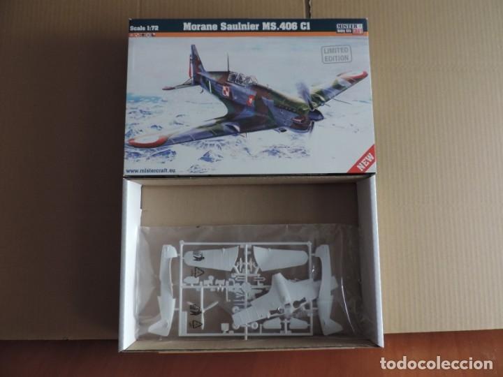 MAQUETA - MISTERCRAFT D-206 MORANE SAULNIER MS.406 CI 1/72 (Juguetes - Modelismo y Radio Control - Maquetas - Aviones y Helicópteros)