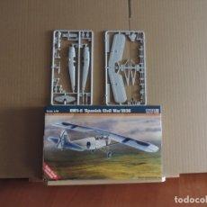 Maquetas: MAQUETA - MISTERCRAFT B-46 RWD-8 GUERRA CIVIL ESPAÑOLA 1936 1/72 + 6 ZTS 1/72. Lote 178141703