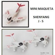 Maquetas: LOTE MAQUETA DE AVION - SHENYANG J 5 - AVIACION CHINA - LONG. 5,5X5 CM. Lote 178211098