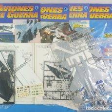 Maquetas: LOTE 4 FASCICULOS AVIONES DE GUERRA (INCLUYEN LA PIEZA) PLANETA AGOSTINI REVELL,VER DESCRIPCION. Lote 178264090