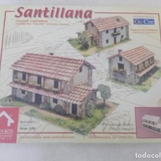 Maquetas: MAQUETA SANTILLANA DE CASONA CANTABRA DOMUS KITS 1:60. Lote 178358382