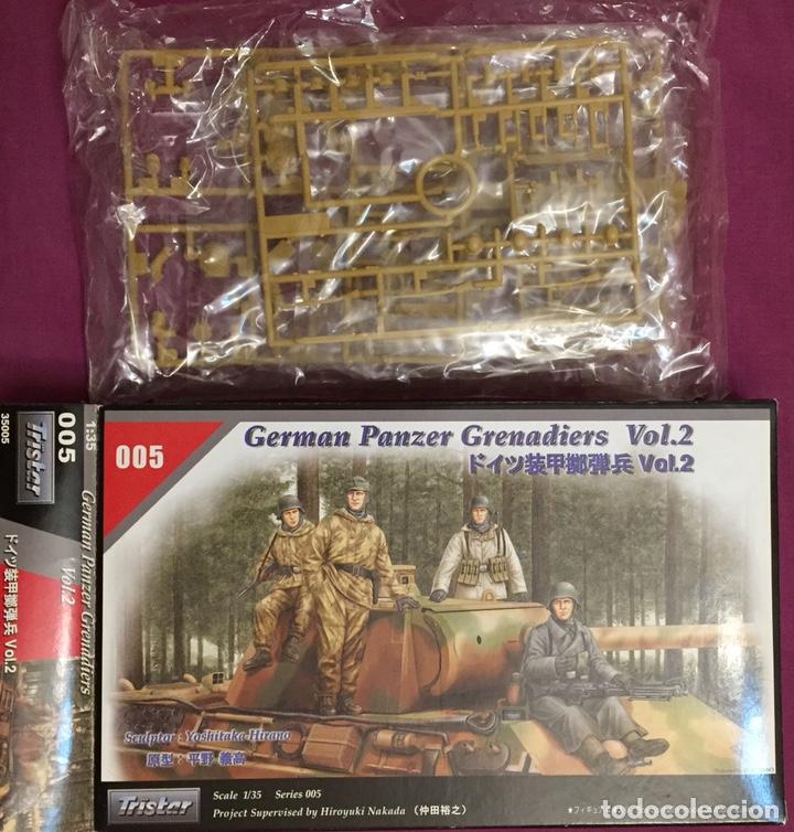 Maquetas: Germán Panzer Grenadiers Vol.2 1:35 TRISTAR 005 maqueta figuras carro diorama tanque - Foto 4 - 178445333