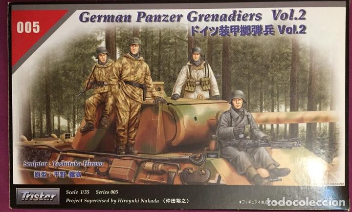 GERMÁN PANZER GRENADIERS VOL.2 1:35 TRISTAR 005 MAQUETA FIGURAS CARRO DIORAMA TANQUE (Juguetes - Modelismo y Radiocontrol - Maquetas - Militar)