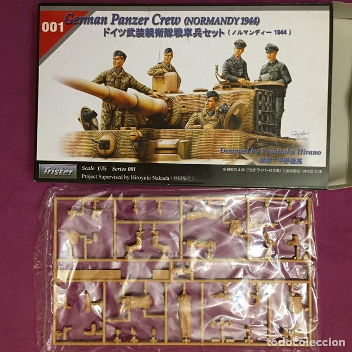 Maquetas: Germán Panzer Crew Normandy 1:35 TRISTAR 001 maqueta figuras carro diorama tanque - Foto 3 - 178520678