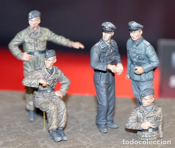 Maquetas: Germán Panzer Crew Normandy 1:35 TRISTAR 001 maqueta figuras carro diorama tanque - Foto 4 - 178520678