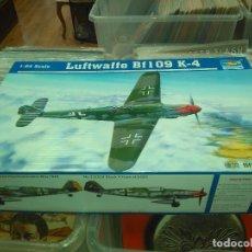 Maquetas: TRUMPETER - BF 109 K-4 - ESCALA 1/24 NUEVA. Lote 178718845
