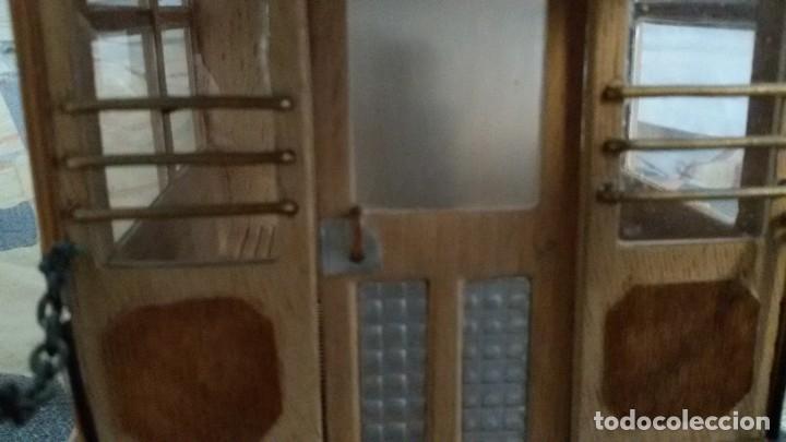 Maquetas: Maqueta tranvía. Todo madera. Pieza única. Artesanal. Realizada por modelista de fundición de CAF. - Foto 12 - 178808170