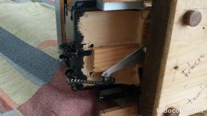 Maquetas: Maqueta tranvía. Todo madera. Pieza única. Artesanal. Realizada por modelista de fundición de CAF. - Foto 18 - 178808170