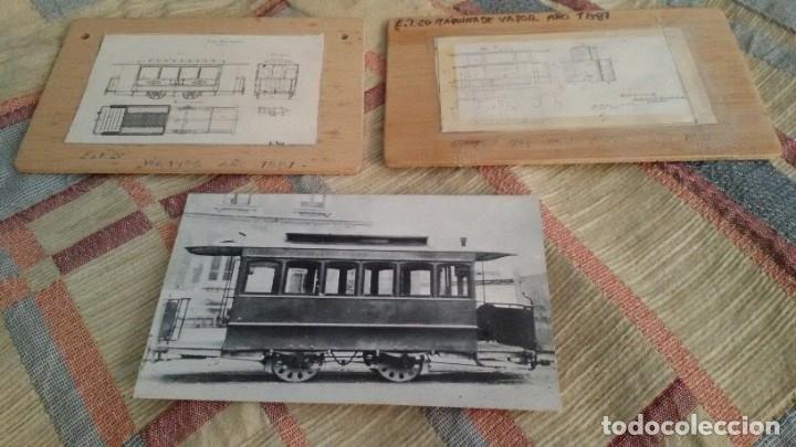 Maquetas: Maqueta tranvía. Todo madera. Pieza única. Artesanal. Realizada por modelista de fundición de CAF. - Foto 20 - 178808170