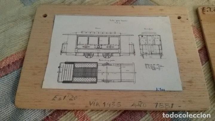 Maquetas: Maqueta tranvía. Todo madera. Pieza única. Artesanal. Realizada por modelista de fundición de CAF. - Foto 22 - 178808170