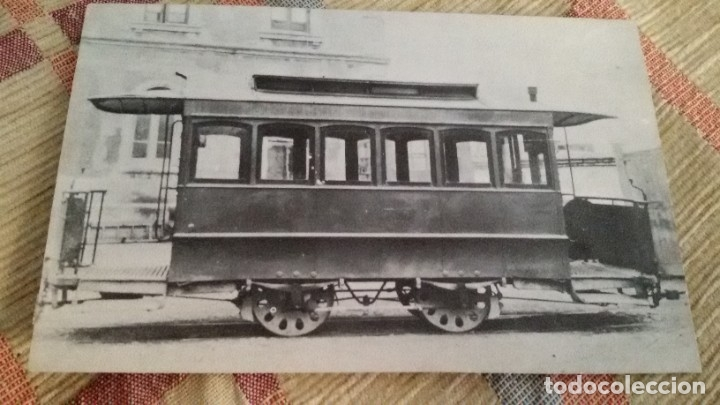 Maquetas: Maqueta tranvía. Todo madera. Pieza única. Artesanal. Realizada por modelista de fundición de CAF. - Foto 23 - 178808170