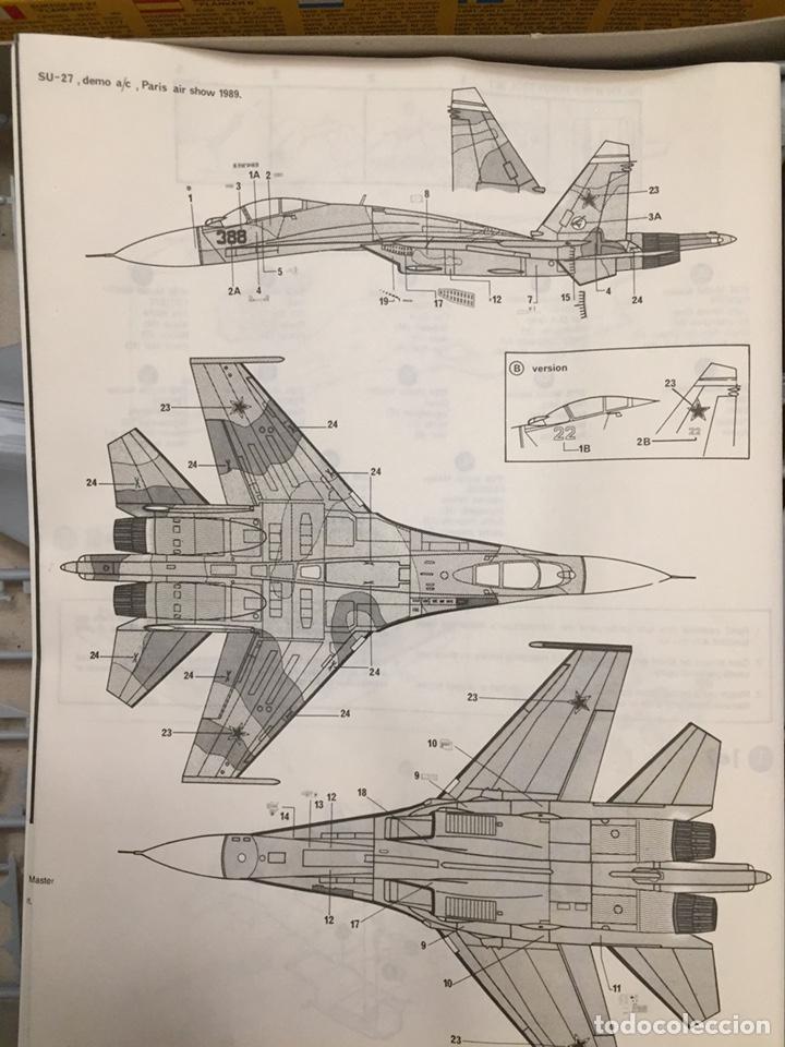 Maquetas: SUKHOI SU-27 Flanker 1:72 ITALERI 187 maqueta avión - Foto 2 - 178810460