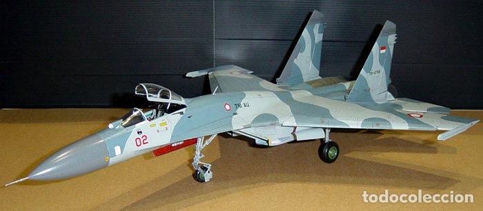 Maquetas: SUKHOI SU-27 Flanker 1:72 ITALERI 187 maqueta avión - Foto 7 - 178810460