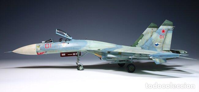 Maquetas: SUKHOI SU-27 Flanker 1:72 ITALERI 187 maqueta avión - Foto 8 - 178810460