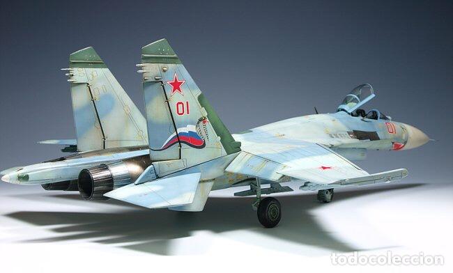 Maquetas: SUKHOI SU-27 Flanker 1:72 ITALERI 187 maqueta avión - Foto 9 - 178810460