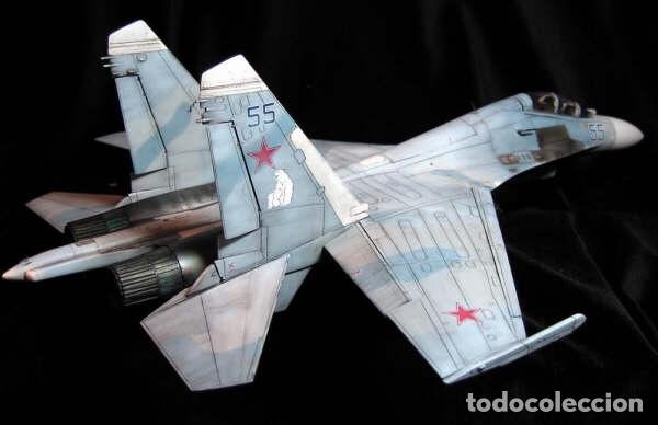 Maquetas: SUKHOI SU-27 Flanker 1:72 ITALERI 187 maqueta avión - Foto 10 - 178810460