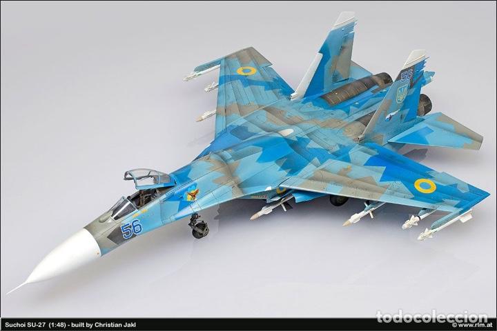 Maquetas: SUKHOI SU-27 Flanker 1:72 ITALERI 187 maqueta avión - Foto 11 - 178810460