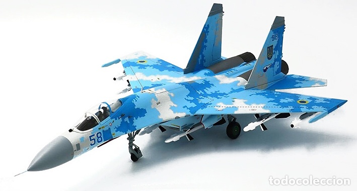 Maquetas: SUKHOI SU-27 Flanker 1:72 ITALERI 187 maqueta avión - Foto 12 - 178810460