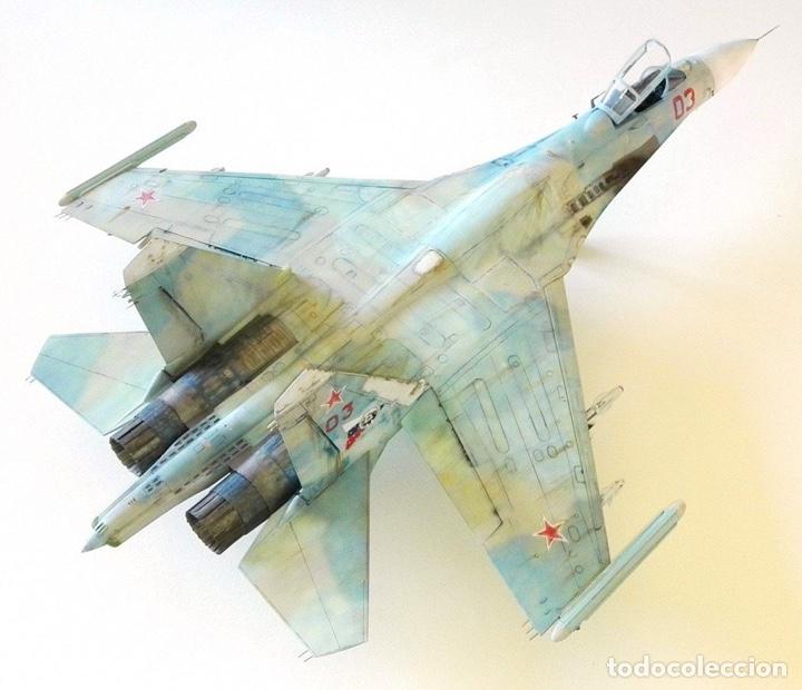 Maquetas: SUKHOI SU-27 Flanker 1:72 ITALERI 187 maqueta avión - Foto 15 - 178810460