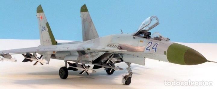 Maquetas: SUKHOI SU-27 Flanker 1:72 ITALERI 187 maqueta avión - Foto 16 - 178810460