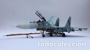 Maquetas: SUKHOI SU-27 Flanker 1:72 ITALERI 187 maqueta avión - Foto 17 - 178810460