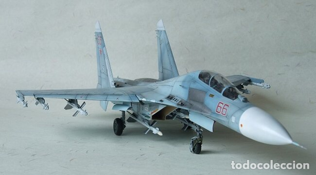 Maquetas: SUKHOI SU-27 Flanker 1:72 ITALERI 187 maqueta avión - Foto 18 - 178810460