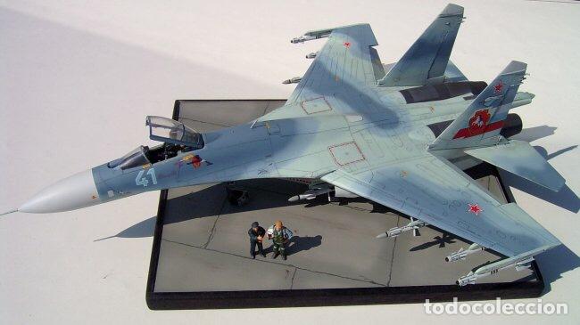 Maquetas: SUKHOI SU-27 Flanker 1:72 ITALERI 187 maqueta avión - Foto 19 - 178810460