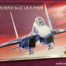 Maquetas: SUKHOI SU-27 UB FLANKER 1:72 HELLER 80371 MAQUETA AVIÓN. Lote 178815876