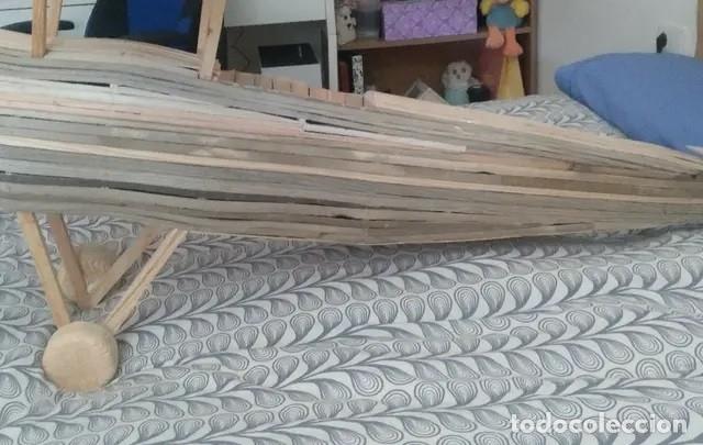 Maquetas: Avión de madera grandes dimensiones 120 cm de ancho - Foto 2 - 178857721