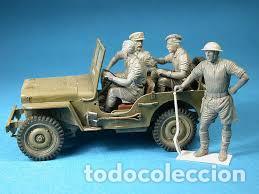 Maquetas: British Jeep Crew conductores 1:35 MINIART 35051 maqueta figuras carro diorama - Foto 4 - 178932450