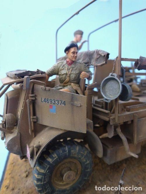 Maquetas: British Jeep Crew conductores 1:35 MINIART 35051 maqueta figuras carro diorama - Foto 8 - 178932450