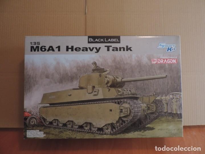MAQUETA - DRAGON 6789 M6A1 HEAVY TANK 1/35 (Juguetes - Modelismo y Radiocontrol - Maquetas - Militar)