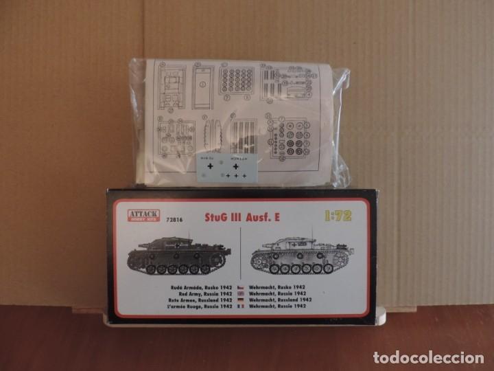Maquetas: Maqueta - Attack Hobby 72816 Sturmgeschütz StuG III Ausf. E 1/72 - Foto 2 - 178937120