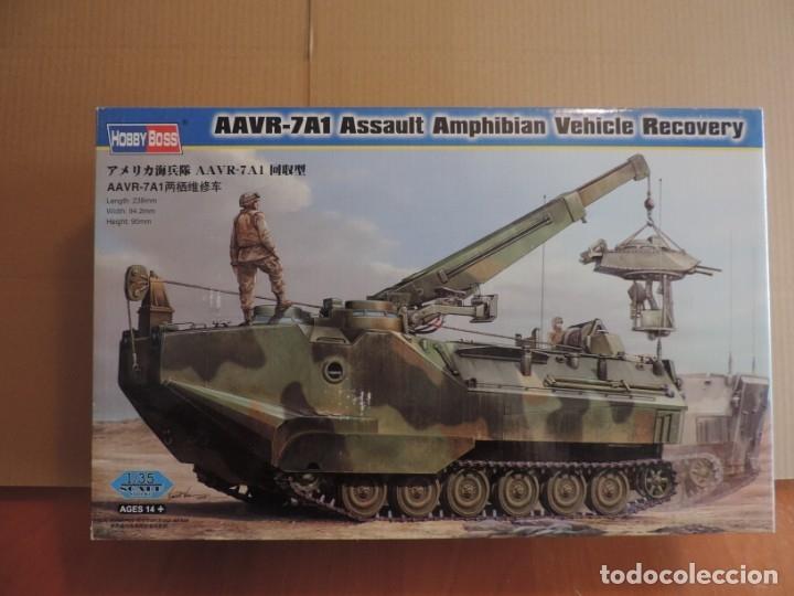 MAQUETA - HOBBY BOSS 82411 AAVR-7A1 ASSAULT AMPHIBIAN VEHICLE RECOVERY 1/35 (Juguetes - Modelismo y Radiocontrol - Maquetas - Militar)